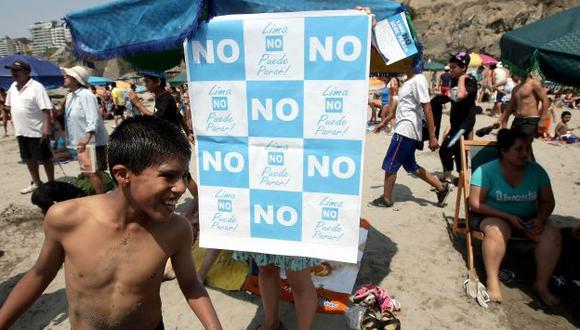 LA CAMPAÑA CALIENTA. Ahora serán los promotores del No los que hablen por Villarán. (Alberto Orbegoso)