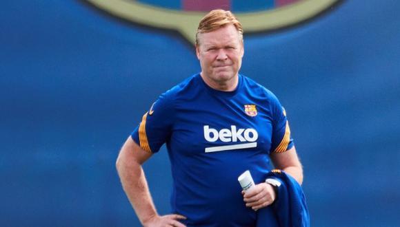 Ronald Koeman es entrenador de Barcelona desde la temporada 2020/2021. (Foto: EFE)