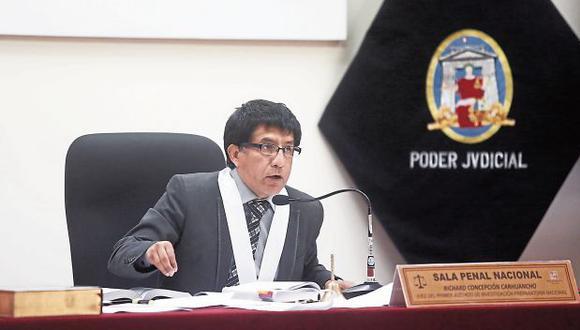 FIRME. Juez Concepción Carhuancho es uno de los 'rebeldes'. (CésarCampos/Perú21)