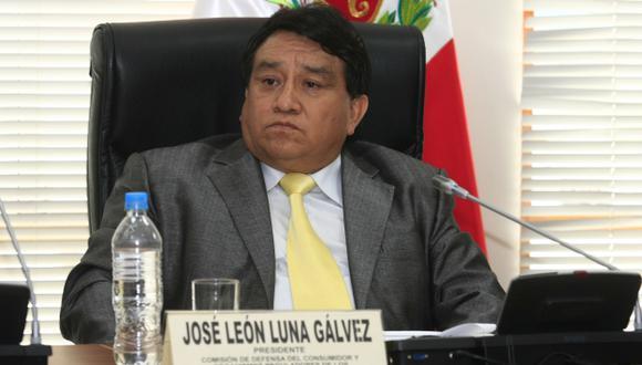 El congresista José Luna Gálvez debe una explicación sobre el tema. (Perú21)