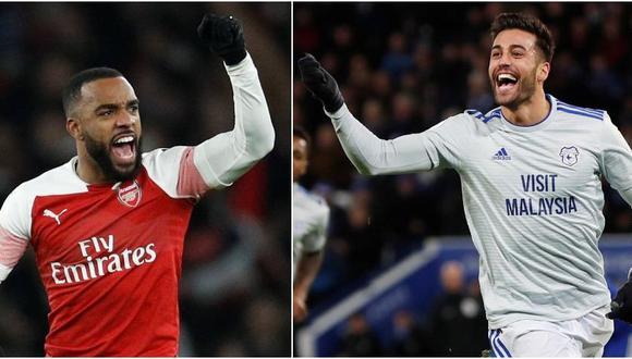 Arsenal vs. Cardiff se miden por la fecha 24 de la Premier League. (Foto: Reuters)