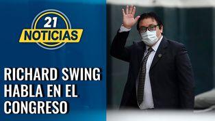 Caso Swing: Comisión de Fiscalización escucha a Swing