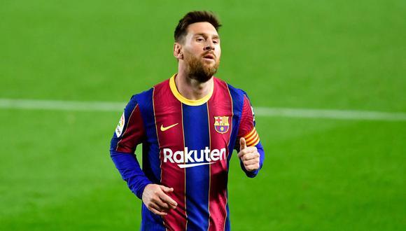 Lionel Messi ya no aparece en el portal web de Barcelona. (Foto: AFP)