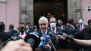 """Sebastián Piñera: """"Si le va bien al Perú, nos va bien a todos"""""""