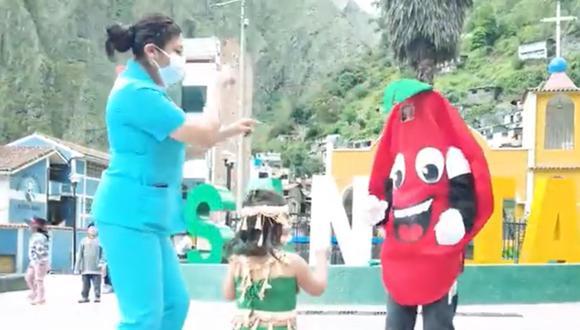 Puno: lanzan concurso de tik tok para prevenir la anemia en niños (Foto: captura de video)