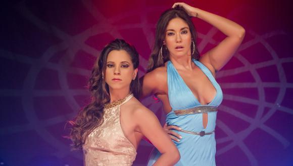 Tilsa Lozano y Vanessa Terkes no conversaron cuando grabaron las promociones del programa Titanes. (Perú21)