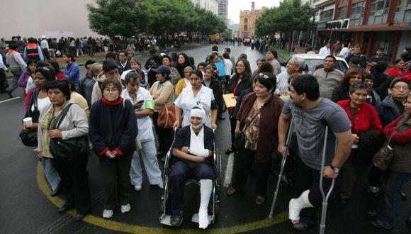 PREVENIDOS. Limeños deben prepararse para un gran sismo. (Martín Pauca)