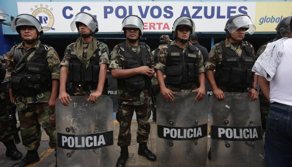 Polvos Azules: Se realizó megaoperativo contra la venta de celulares robados. (Anthony Niño de Guzmán)