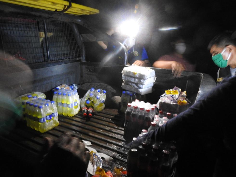 Madre de Dios. Detienen a diez funcionarios de la Municipalidad de Tambopata en plena parrillada. (PNP)