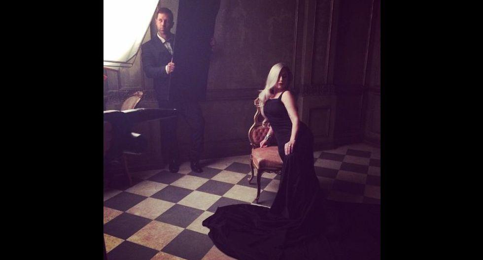 Cantante Lady Gaga. (Cuenta de Mark Seliger en Instagram)