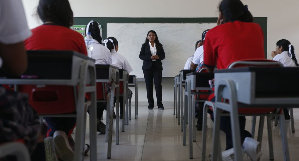 Medida se toma con el objetivo de continuar con el proceso de revalorización de la carrera de docente. (Perú21)