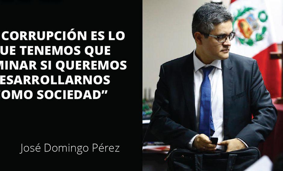 José Domingo Pérez dio detalles, en una entrevista a Trome, de su labor profesional y de la lucha contra la corrupción que viene realizando.
