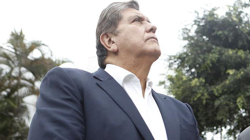 Alan García rescató solidaridad de ciudadanos. (Roberto Cáceres)