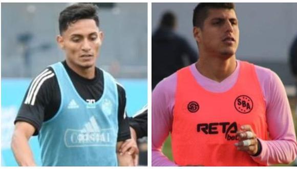Cienciano se reforzó con Kevin Sandoval y Hansell Riojas para la temporada 2021. (Foto: Sporting Cristal / Cienciano)