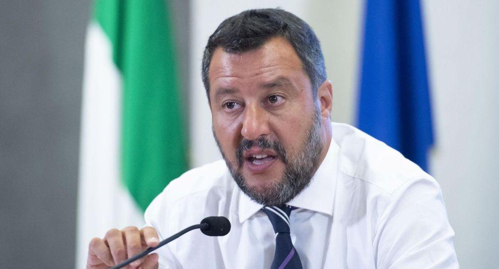Salvini se refirió al caso de la embarcación del Open Arms y al de Viking Ocean, fletada por Médicos sin Fronteras y SOS Mediterranée. (Foto: EFE)