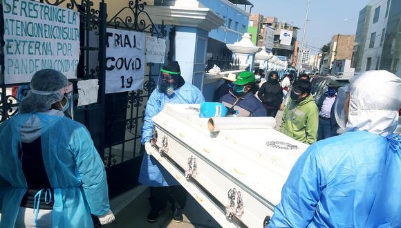 La Libertad: Diecinueve muertes por COVID-19 y todas las camas UCI ocupadas