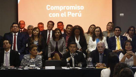 Fuerza Popular llevará a cabo un proceso de reestructuración con el congresista Luis Galarreta. (Foto: Piko Tamashiro / GEC)