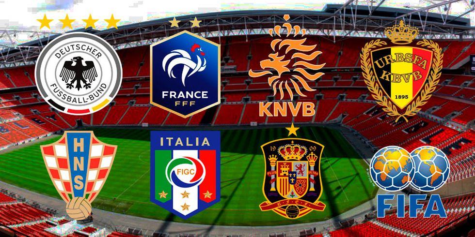 La UEFA Nations League va llegando a su etapa final y muchos grupos se definen para saber a los clasificados de la próxima Eurocopa 2019. (Foto: Composición)