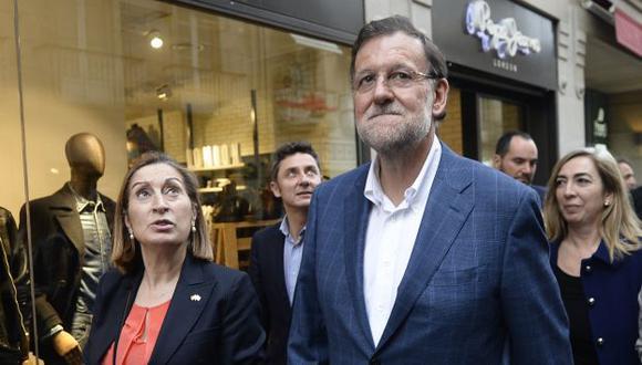 Mariano Rajoy busca ser reelegido en España. (AFP)