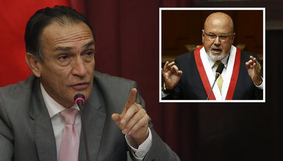 Héctor Becerril le respondió a Carlos Bruce a través de Twitter. (Perú21)