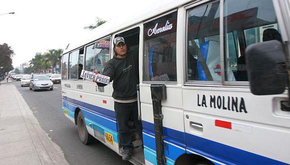 Los transportistas pondrían fin a la popular 'china' en tramos cortos. (USI)