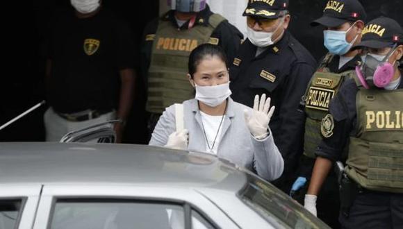 Keiko Fujimori es la lideresa de Fuerza Popular. (GEC)