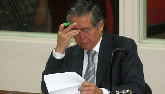 Alberto Fujimori vuelve a quejarse por condiciones carcelarias. (USI)