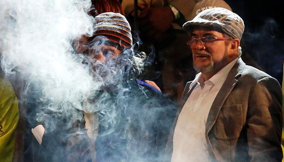 'Timochenko' fue elegido como presidente del partido político FARC al recibir 111 votos a su favor (Reuters).