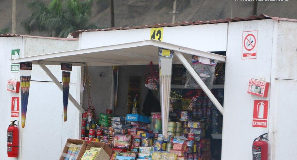 Autorizan ferias para la venta de fuegos artificiales. (FOTO: SUCAMEC)