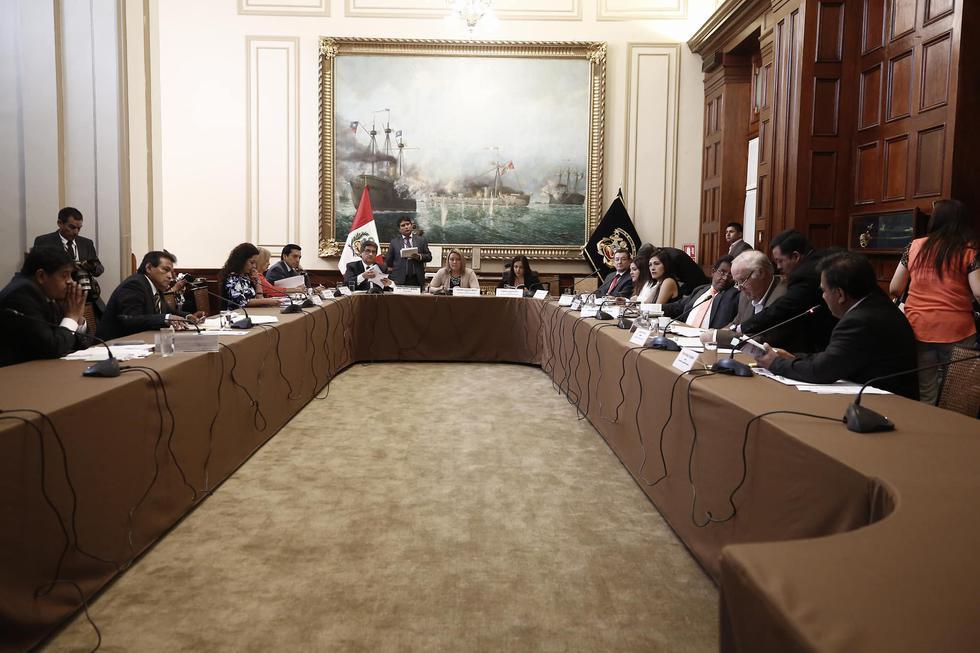 Admiten denuncia constitucional contra Kenji Fujimori, Guillermo Bocángel y Bienvenido Ramírez. (César Campos/Perú21)