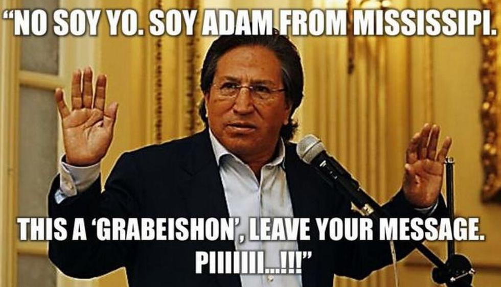 Cuando El Comercio llamó a EEUU, una voz muy similar a la de Toledo contestó, pero dijo que el expresidente no estaba.
