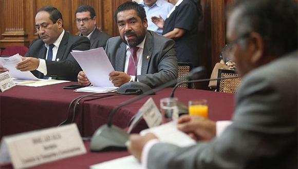 Alberto Oliva es el presidente de la Comisión de Justicia del Congreso de la República. (Foto: Agencia Andina)