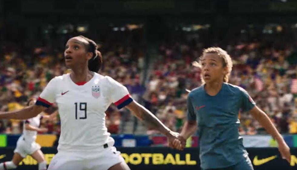 Nike y su emocionante video que empodera a niñas a poco de empezar el Mundial Femenino de Fútbol (Nike/YouTube)