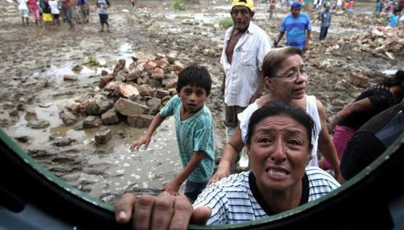 Se eleva a 107 el número de muertos por lluvias y huaicos. (USI)