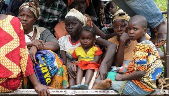 Unicef denuncia decapitación de niños en República Sudafricana. (AFP)