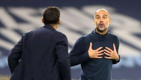 Pep Guardiola reconoce que sus jugadores están al límite de sus capacidades.