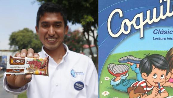 """Los ganadores fueron Julio Garay Barrios, creador de las galletas """"Nutri Hierro"""";  y Everardo Zapata Santillana, educador peruano autor de """"Coquito""""."""