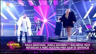 """Fabio Agostini presenta a las """"Chicas Tulum"""" como sus refuerzos en """"El Artista del Año"""""""