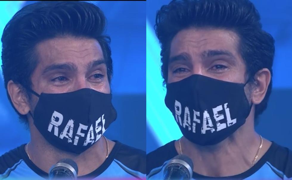 ¡Si lo llamaron! Rafael Cardozo se emociona hasta las lágrimas en su ingreso a 'EEG'. (América TV)