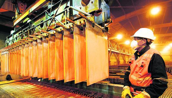 La cotización del metal rojo se encuentra alrededor de US$8,984 la tonelada (SNMPE).
