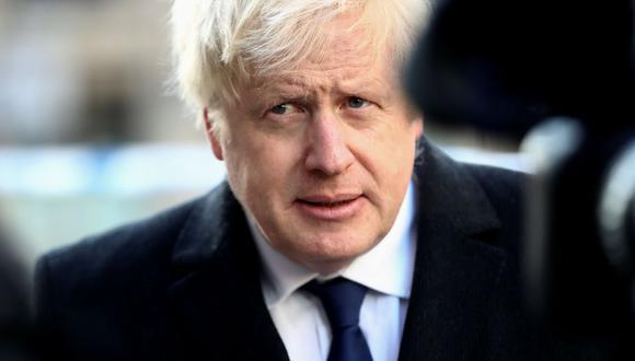 Boris Johnson acusado de politizar el atentado de Londres. (AFP)