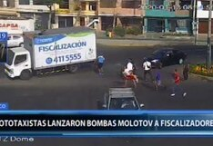 """Surco: alcalde calificó de """"atentado terrorista"""" el ataque de mototaxistas informales contra agentes de fiscalización"""