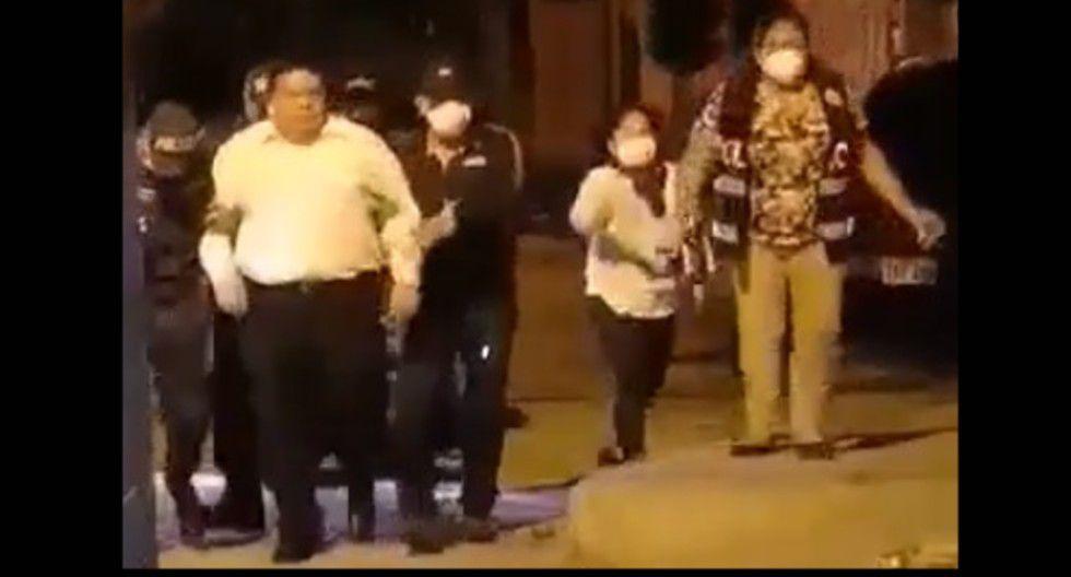 Chimbote: Alcalde del Santa es detenido por presuntamente tomar alcohol en toque de queda   VIDEO