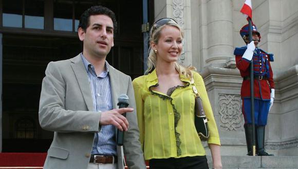 Juan Diego Flórez y Julia Trappe se casaron hace algunos años en la Catedral de Lima. (Difusión)