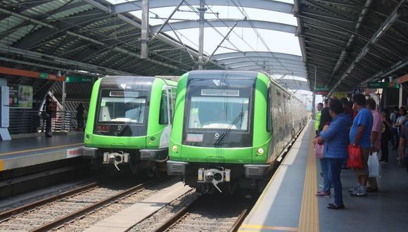La Línea 1 del Metro de Lima recorre desde Villa El Salvador hasta San Juan de Lurigancho. (Foto: Ositran)