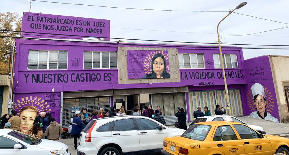 Mural es una denuncia contra las muertes registradas en esta parte de México. (Twitter)