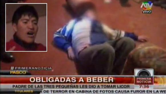 Darío Carhuarica Cotrina fue detenido por las autoridades. (Captura de TV)