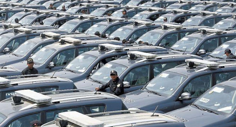 Ministerio del Interiorseñala que hay 200 patrulleros paralizados. (Piko Tamashiro)