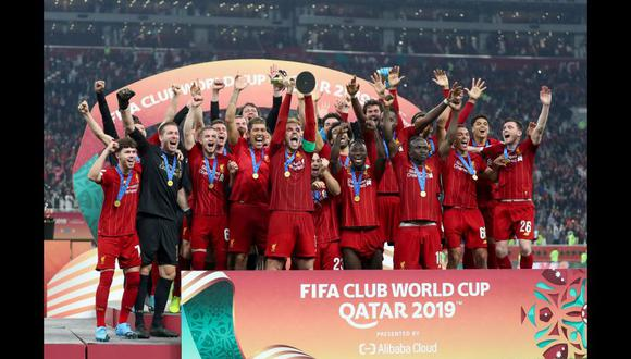 Liverpool se coronó campeón del Mundial de Clubes 2019 tras vencer 1-0 a Flamengo. (Foto: AFP)