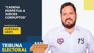 Gustavo Cesti candidato al Congreso por Somos Perú